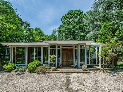 Single Family Home for sales at Tranquil & Spacious Contemporary 21 Hilltop Road Norwalk, Connecticut 06854 United States