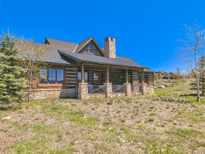 Nhà ở một gia đình for sales at Ultimate Promontory Trapper Cabin in Prime Location 8045 Western Sky Park City, Utah 84098 Hoa Kỳ