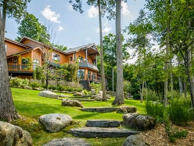 단독 가정 주택 for sales at Magog 2961 Ch. de Georgeville Magog, 퀘벡주 J1X0M8 캐나다
