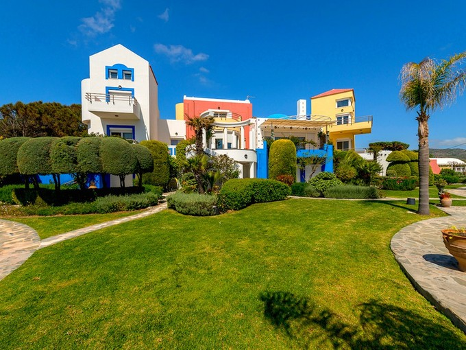 Maison unifamiliale for sales at Gennadi Sea Front Villa Lachania Rhodes, Southern Aegean 85100 Grèce