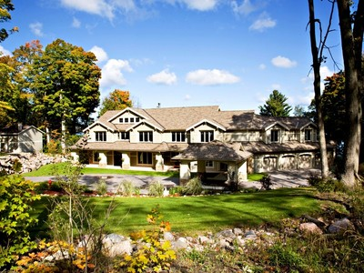 Maison unifamiliale for sales at Waterfront Estate 1400 Sandy Bay Road Georgian Bay, Ontario L9M1Y8 Canada