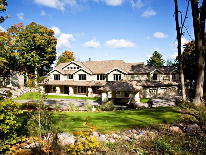Einfamilienhaus for sales at Waterfront Estate 1400 Sandy Bay Road  Georgian Bay, Ontario L9M1Y8 Kanada