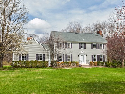 Nhà ở một gia đình for sales at Beautiful Colonial On Two Acres, Protected Views 390 Gallup Road Princeton, New Jersey 08540 Hoa Kỳ