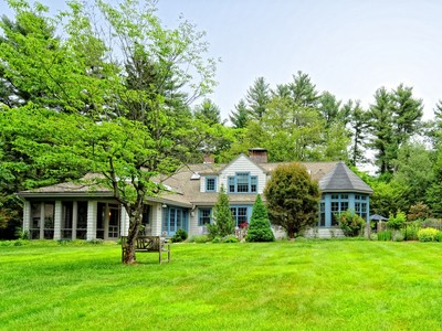 Single Family Home for sales at Character Filled Retreat near 1200 Acre Estabrook Woods! 55 Hugh Cargill Road Concord, Massachusetts 01742 United States