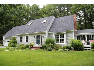 Single Family Home for sales at Well-Built Cape 51 Fairway Lane New London, New Hampshire 03257 United States