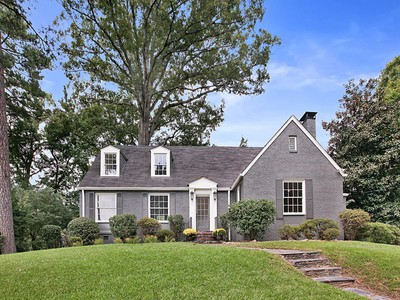 Single Family Home for sales at Classic Brick in Morningside 556 Montgomery Ferry Road Atlanta, Georgia 30324 United States