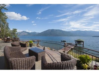Single Family Home for sales at Sunrise Bay Luxury Waterfront 609 Sunrise Bay Rd Sagle, Idaho 83860 United States