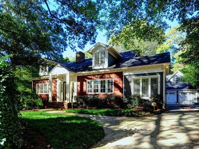 Single Family Home for sales at Meticulously Renovated Bungalow 1466 University Drive   Atlanta, Georgia 30306 United States