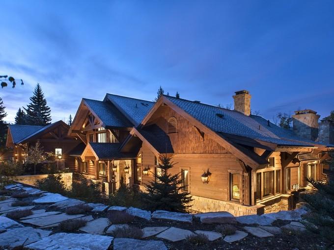 Single Family Home for sales at Whitefish Lake Masterpiece 1488 Barkley Lane Whitefish, Montana 59937 United States