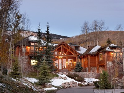 Частный односемейный дом for sales at Mountain Lodge at Two Creeks 849 Serviceberry Lane  Snowmass Village, Колорадо 81615 Соединенные Штаты