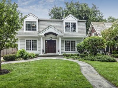 Maison unifamiliale for sales at 434 E Hickory  Hinsdale, Illinois 60521 États-Unis