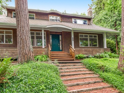 Nhà ở một gia đình for sales at Wimsey Lane 5795 Wimsey Lane  Bainbridge Island, Washington 98110 Hoa Kỳ