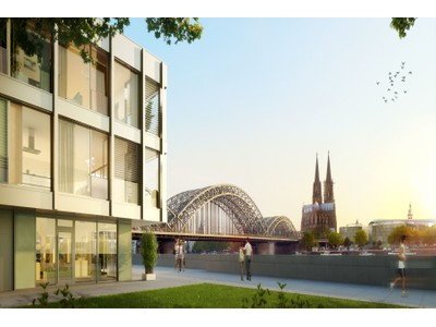 for sales at The View - spectacular view over the Rhine River and Cologne Cathedral Kennedy-Ufer 11 Cologne, Nordrhein-Westfalen 50679 Germany