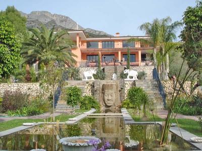 Single Family Home for sales at Stunning mansion in Altea, Alicante, Costa Blanca, Spain, with a big designer ga Avenida Pricipal de la Sierra Altea, Alicante Costa Blanca 03590 Spain