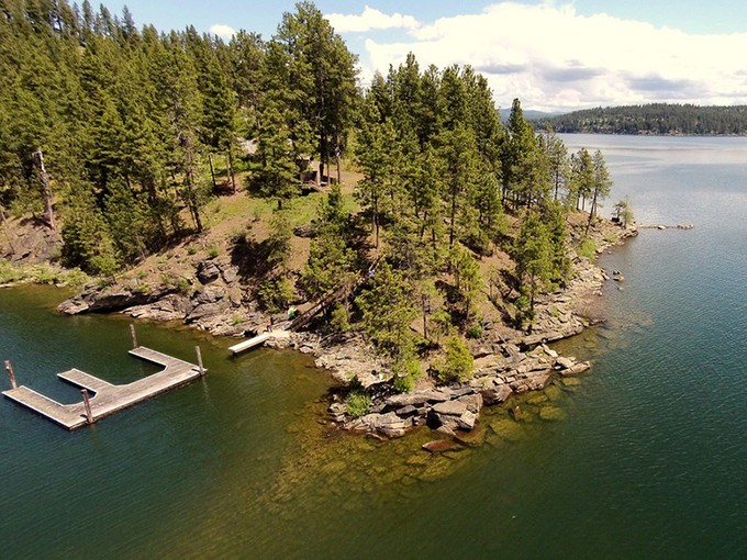 Land for sales at The Point At Swede Bay 7522 S Newtons Way Coeur D Alene, Idaho 83814 United States