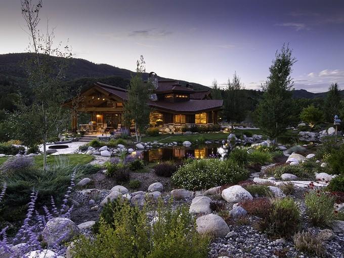 Maison unifamiliale for sales at Strawberry Park Estate 31765 Soda Creek Rim Road   Steamboat Springs, Colorado 80487 États-Unis