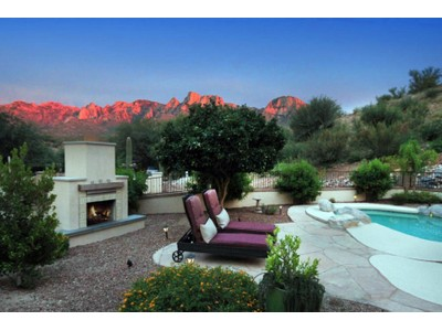 Vivienda unifamiliar for sales at Old World Tuscan Inspired Home with Breathtaking Catalina Mountain Views 11255 N Flying Bird Drive  Tucson, Arizona 85737 Estados Unidos