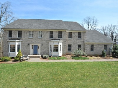 Single Family Home for sales at Elegant Center Hall Colonial 6 Forest Drive Morris Township, New Jersey 07960 United States