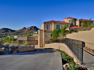 Casa para uma família for sales at Top of Lookout Mountain Within Moon Valley's Premier Gated Community 13221 N 17th Place Phoenix, Arizona 85022 Estados Unidos