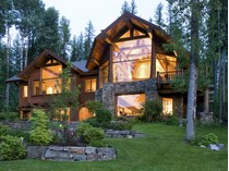 独户住宅 for sales at Spectacular Home on Whitefish Lake's Lazy Bay 669 Delrey Road   Whitefish, 蒙大拿州 59937 美国