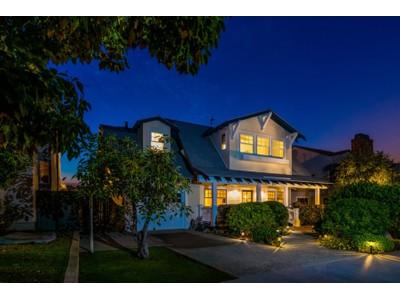 Maison unifamiliale for sales at 260 Soledad Place  Coronado, Californie 92118 États-Unis