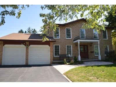 Single Family Home for sales at Serene Setting 1536 Ifield Road  Mississauga, Ontario L5H3W1 Canada