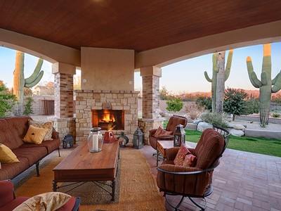 Casa Unifamiliar for sales at Lovely Custom Home in Naranja Ranch Estates 11508 N Coyote Blue Court Oro Valley, Arizona 85742 Estados Unidos