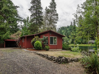 Single Family Home for sales at 44894 McKenzie Hwy  Leaburg, Oregon 97489 United States