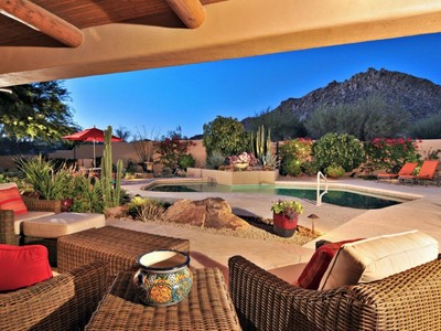 Vivienda unifamiliar for sales at Magnificent Territorial Home On The Troon Golf Course In Guard Gated Glenn Moor 10801 E Happy Valley Rd #84 Scottsdale, Arizona 85255 Estados Unidos