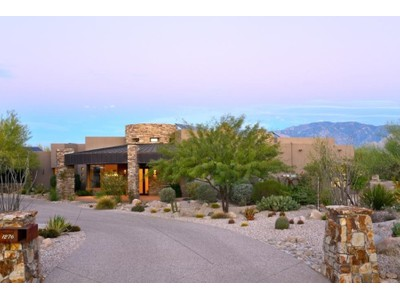 Moradia for sales at Located On Extremely Private 1.15 Acre Cul-de-Sac Lot Golf Lot In Stone Canyon 1276 W High Plain Place   Oro Valley, Arizona 85755 Estados Unidos