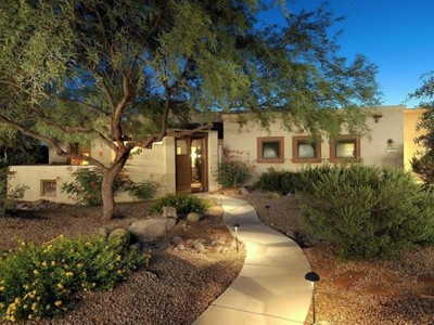 Casa Unifamiliar for sales at Beautiful Upgraded Home on Private .46 Acre Lot in the Heart of Barrio de Tubac 2157 Corte Balboa  Tubac, Arizona 85646 Estados Unidos