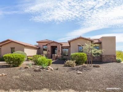 独户住宅 for sales at Sweepng Views in a Private Desert Setting in Las Sendas 8121 E Echo Canyon Street Mesa, 亚利桑那州 85207 美国
