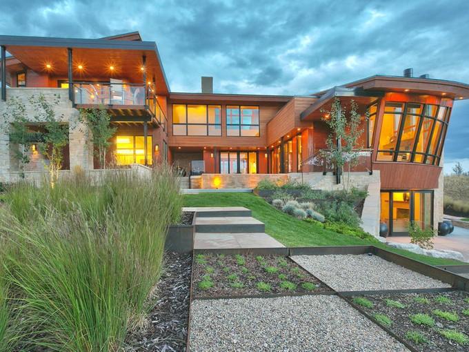 Casa Unifamiliar for sales at Opulent Frontier Modern at the apex of Huntsville Utah 6639 E Chaparral Rd   Huntsville, Utah 84317 Estados Unidos