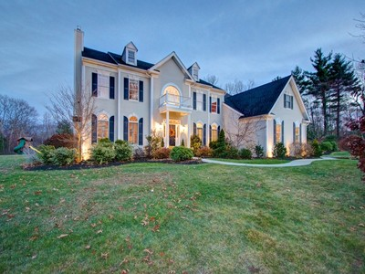 Single Family Home for sales at Handsome Colonial 15 Overlook Road Hopkinton, Massachusetts 01748 United States