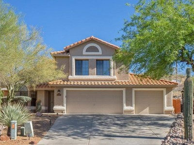 Vivienda unifamiliar for sales at Extreme Privacy And An Impeccable Home In A Gated Golf Course Community 10351 N Oak Knoll Lane Tucson, Arizona 85737 Estados Unidos