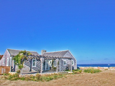 Single Family Home for sales at Waterfront Beach Cottage 655 Herring Creek Road Vineyard Haven, Massachusetts 02568 United States