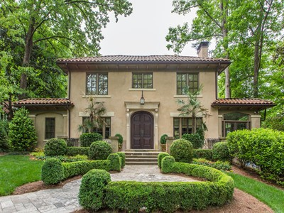 Einfamilienhaus for sales at Stunning Totally Renovated Mediterranean Home 166 W Wesley Road NW Atlanta, Georgia 30305 Vereinigte Staaten
