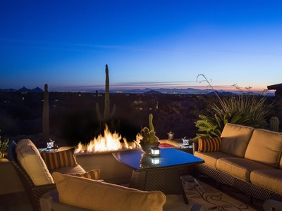 Tek Ailelik Ev for sales at Furnished Recently Upgraded Desert Mountain Retreat with Breathtaking Views 9927 E Broken Spur Drive Scottsdale, Arizona 85262 Amerika Birleşik Devletleri