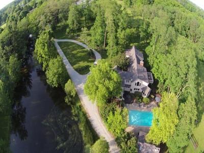 Einfamilienhaus for sales at Spectacular Equestrian Property 7535 W 96th Street Zionsville, Indiana 46077 Vereinigte Staaten
