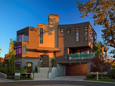 Villa for sales at Modern Luxury with Views 313 Lillooet Heights  Victoria, Columbia Britannica V8S0A1 Canada