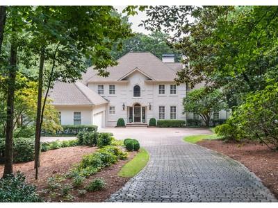 Single Family Home for sales at Beautiful Light Filled Home 4161 Harris Trail Atlanta, Georgia 30327 United States