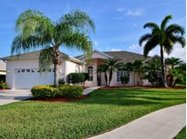 Single Family Home for sales at Bright Beautiful Pool Home, New Roof, Extras! 6436 33rd Lane   Vero Beach, Florida 32966 United States