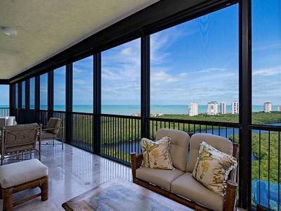 Condominium for sales at PELICAN BAY - MONTENERO 7575  Pelican Bay Blvd PH-1907 Naples, Florida 34108 United States