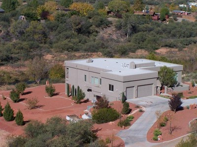 Moradia for sales at Private Southwestern Home 1820 S Creekside Cornville, Arizona 86325 United States