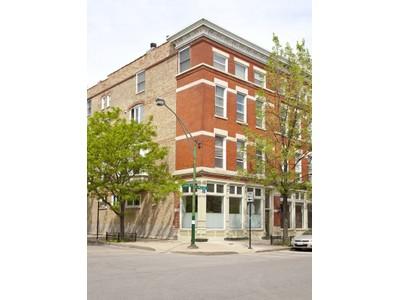 Appartement en copropriété for sales at Impressive Duplex Condo in Great Location! 1528 N Paulina Street Unit 1   Chicago, Illinois 60622 États-Unis