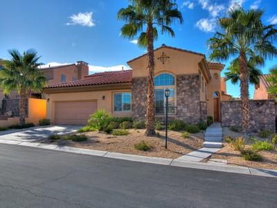 Einfamilienhaus for sales at 1187 Casa Palermo  Henderson, Nevada 89011 Vereinigte Staaten