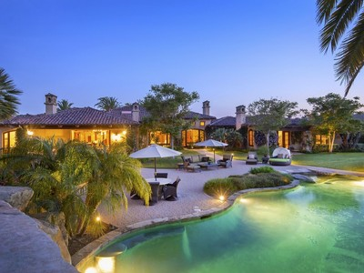 Casa Unifamiliar for sales at 15876 The River Trail  Rancho Santa Fe, California 92067 Estados Unidos
