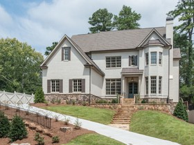 Single Family Home for sales at New Construction In Chastain Park 285 Lafayette Way Atlanta, Georgia 30327 United States