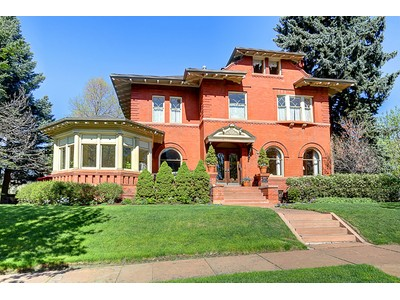 Einfamilienhaus for sales at 685 Emerson Street  Denver, Colorado 80218 Vereinigte Staaten