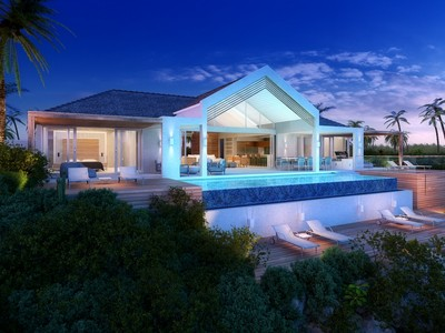 Nhà ở một gia đình for sales at Beach Enclave - Single Storey Villa Oceanview Blue Mountain, Providenciales TC Quần Đảo Turks Và Caicos